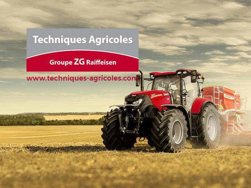 Nouveau site pour Techniques Agricoles –